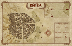 The city of Bhimra
